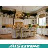 Mobília em forma de L clássica & elegante dos gabinetes de cozinha (AIS-K159)
