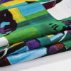 Tela del ramio de la impresión para los vestidos/las tapas, camisa