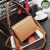 Super Star Favorite Designer Handbags Último Lady PU Messenger Bag com Studded Sy8080