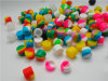 La catégorie comestible de cire de conteneurs de silicones du cadre 5ml de conteneur antiadhésif de silicium cogne le support de pétrole de choc de mémoire d'outil de TAPE pour le vaporisateur Vape approuvé par le FDA