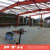 Almacén profesional industrial de la estructura de acero del diseño de Pth