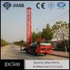 Тележка буровой установки воды Jdc500 установила на Одиночном-Diff шассием тележки