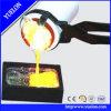 золото 4kg и серебряная плавя печь, машина индукции плавя