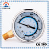 Oil Filled pressione dell'acqua Gauge fabbrica Cheap Oil manometri