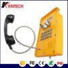 Teléfono de llamada de la autopista Teléfono de emergencia Knsp-16 Teléfono de exterior SIP