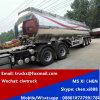 3 de Aanhangwagen van het Vervoer van de Olie van het Roestvrij staal van Shinning van assen
