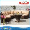Sofa en osier de jardin de loisirs extérieurs pour le patio