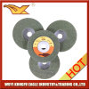 100X12mmのNon-Woven磨くディスク(緑色)