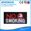 Muestra de no fumadores sensible del rectángulo LED de Hidly