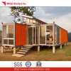Casa modular pré-fabricada moderna do recipiente de Rico da costela para o Vocation.