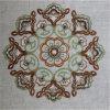 Tissu 100% décoratif de broderie de polyester chaud de vente pour le rideau
