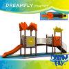 El color brillante modifica el equipo único de la diapositiva para requisitos particulares del patio de los niños del tamaño