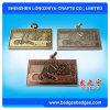 Medalla antigua del recuerdo del metal del bronce de la plata del oro