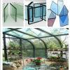 Vidrio aislador para la casa de cristal/la casa verde