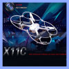 HD Camera 360 Degree Stunt RC ToysのSyma X11c RC Quadcopter 2.4G 4CH 6 Axis 2.0MP RC Helicopter Drone