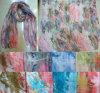 81310146 Muti-Farbe Kokosnuss-Palmen-Abbildung Gayze Schal