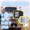 한가한 Parts 20W LED Driving Light, 20W/30W/60W Driving Light C Ree LEDs, Motorcycle를 위한 3inch 20W LED Work Light