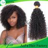 人間の毛髪の拡張を編むバージンの毛のRemyの安いインドの毛