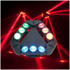 Buena calidad LED 9 pedazos que mueven la luz principal de la araña