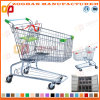 Supermarkt-amerikanische Art-Zink-Einkaufswagen-Laufkatze (Zht38)