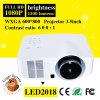 Projecteur de la vidéo 1500 de LED mini HD 1080P des lumens portatifs
