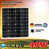 panneau solaire flexible monocristallin mono de 40W Rutong 12V