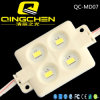최신 Sale 4chips Square Super Bright Rgbyw Color 5050/SMD5730 Injection LED Module