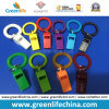 Sujetador plástico colorido del Wristband de la impresión del silbido W/Custom del deporte