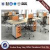 新しいデザインメラミンオフィスのキュービクルワークステーション(HX-MT5046)