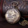Вахта всего бронзового кварца ожерелья локомотивного двигателя фронта поезда привесного карманный