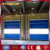 Puerta de alta velocidad de la persiana enrrollable de la tela industrial del PVC (YQRD0094)