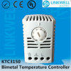조정가능한 Heating 및 Cooling Bimetal Thermostat (KTC3150)