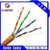 PVC/Lszh Jacket 305m Ethernet Cable Cat5e 24 AWG Solid Copper
