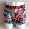 Impreso puro poliéster Boxer Briefs calzoncillos para hombre