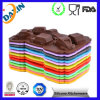 O FDA LFGB confirmou o molde feito sob encomenda decorativo do chocolate do silicone