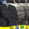 Schwarzes rundes Stahlrohr mit verschiedenen Größen