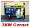 2.8kw/3kVA Portable Diesel Generator voor Home Use met HIGHQUALITY!