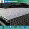 precio suave Chequered de la placa de acero del punto grueso de la lluvia St37 de 6m m
