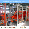 Máquina de fabricación de ladrillo Quemar-Libre automática del material de construcción