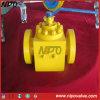 Válvula de bola con bridas de acero forjado de entrada superior