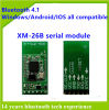 XM-26b Bluetooth 4.1 Clase 2 de serie Módulo de soporte Br / EDR / BLE iPhone / Android / Windows
