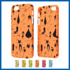 iPhone 5sのためのCover Case止めのColoful Cat Design