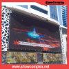 Tela video ao ar livre do diodo emissor de luz da cor P6 cheia com o painel de alumínio de fundição