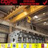 CE Кита проверил кран двойного прогона 3 тонн надземный
