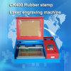 Prix de machine de tampon en caoutchouc de Ck400 40With60W de tampon en caoutchouc