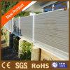 Frontière de sécurité en plastique en bois décorative de jardin de vinyle du composé WPC