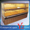 ケーキの飾り戸棚(YZ161007)の食器棚の木製のキャビネットのベーキングキャビネットのケーキのショーケースのペストリーのショーケースのパンの飾り戸棚のパン屋の飾り戸棚