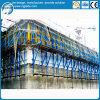 ダムの鋼鉄構築の型枠システム