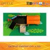 114mm galvanisierter Pfosten-bunter Einfachheits-Seegeschöpf-Bogen-Bergsteiger und doppeltes Plättchen-Kind-im Freienspielplatz-Gerät