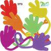 In het groot Kleverig op het Kleverige Speelgoed van de Hand van het Speelgoed TPR van de Muur Plastic